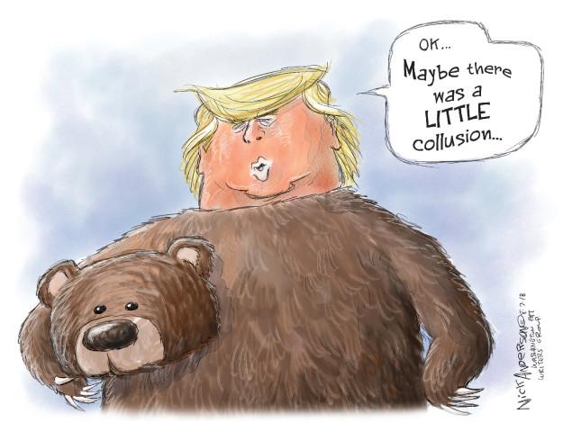 Nick Anderson  Nick Anderson's Editorial Cartoons 2018-08-07 Robert Mueller