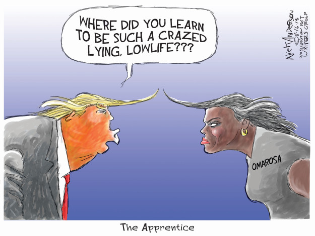 Cartoonist Nick Anderson  Nick Anderson's Editorial Cartoons 2018-08-16 book