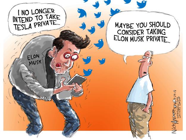 Cartoonist Nick Anderson  Nick Anderson's Editorial Cartoons 2018-08-29 private