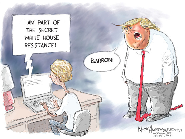Nick Anderson  Nick Anderson's Editorial Cartoons 2018-09-07 anonymous