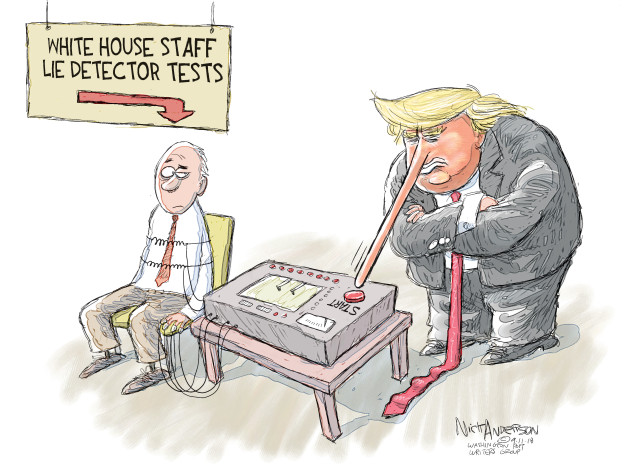 Cartoonist Nick Anderson  Nick Anderson's Editorial Cartoons 2018-09-11 media
