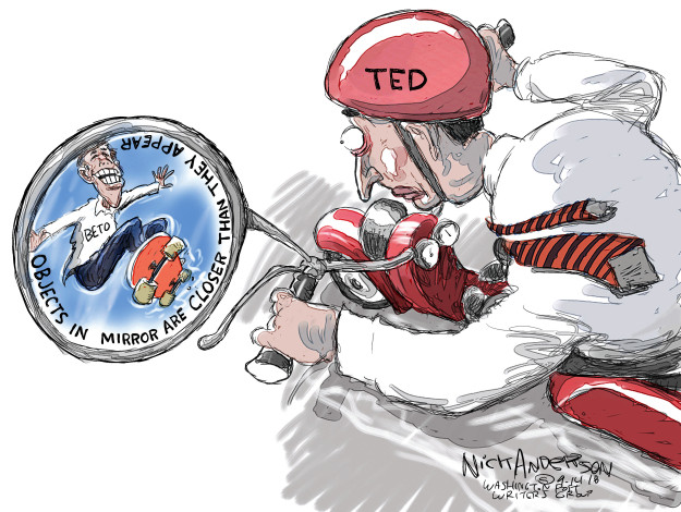 Cartoonist Nick Anderson  Nick Anderson's Editorial Cartoons 2018-09-14 republican politician