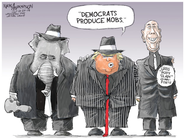 Nick Anderson  Nick Anderson's Editorial Cartoons 2018-10-20 republican democrat