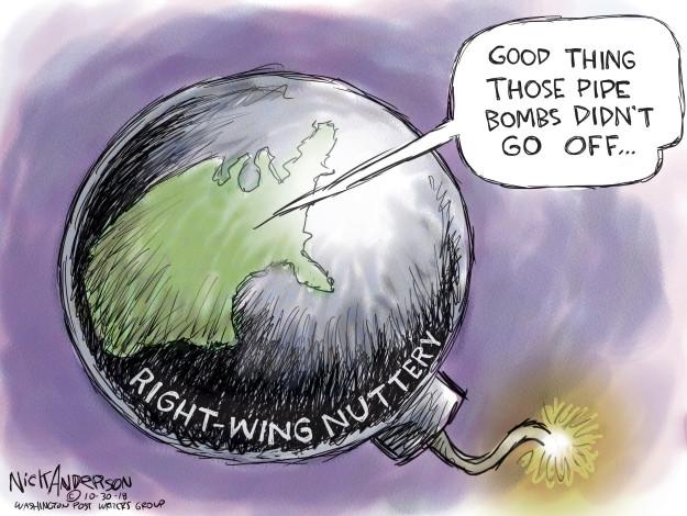 Nick Anderson  Nick Anderson's Editorial Cartoons 2018-10-30 conservative