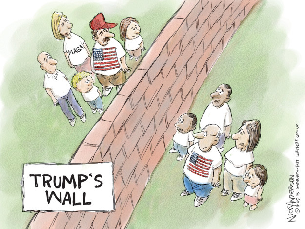 Nick Anderson  Nick Anderson's Editorial Cartoons 2018-11-04 immigration