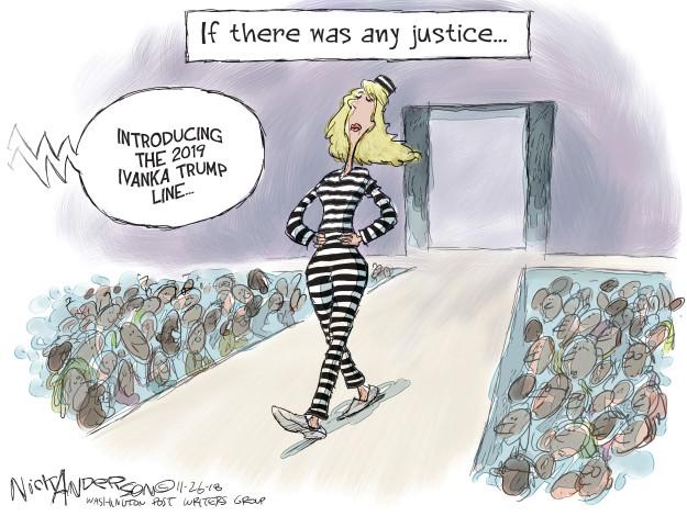 Cartoonist Nick Anderson  Nick Anderson's Editorial Cartoons 2018-11-26 Presidency