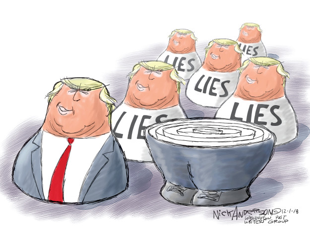 Cartoonist Nick Anderson  Nick Anderson's Editorial Cartoons 2018-12-01 Michael