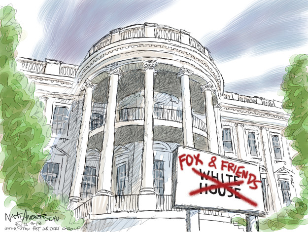 Cartoonist Nick Anderson  Nick Anderson's Editorial Cartoons 2018-12-08 media