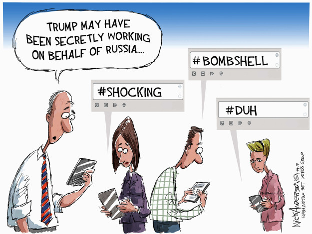 Nick Anderson  Nick Anderson's Editorial Cartoons 2019-01-14 Robert Mueller