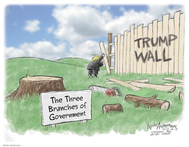 Cartoonist Nick Anderson  Nick Anderson's Editorial Cartoons 2019-02-18 national