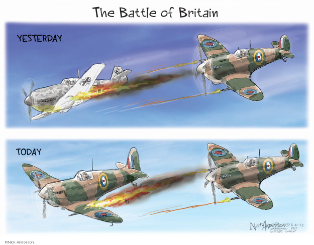 The Battle of Britain. Yesterday. Today.