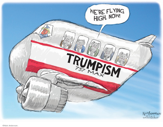 Trumpism.  737 Max.  Were flying high now!