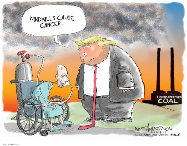 Cartoonist Nick Anderson  Nick Anderson's Editorial Cartoons 2019-04-09 Donald
