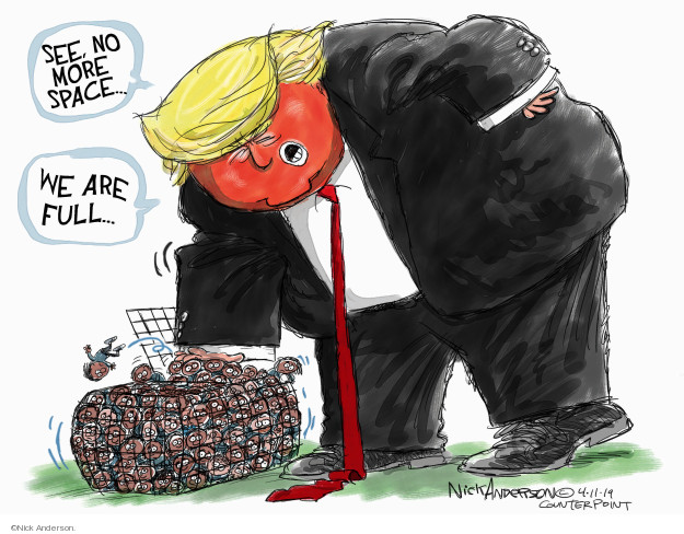 Cartoonist Nick Anderson  Nick Anderson's Editorial Cartoons 2019-04-11 Donald