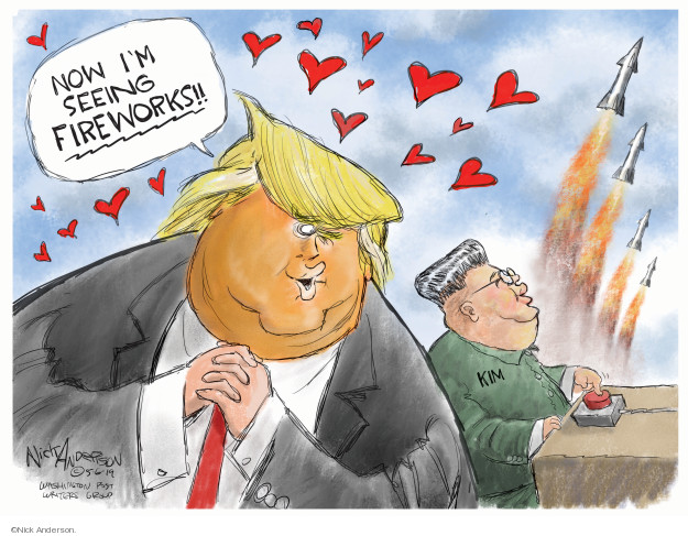 Cartoonist Nick Anderson  Nick Anderson's Editorial Cartoons 2019-05-06 Donald