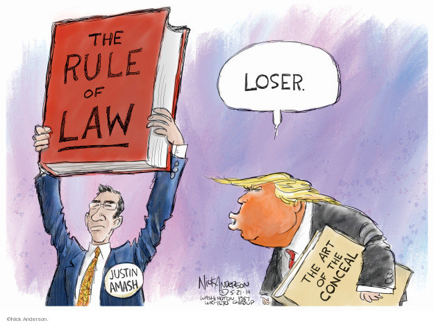 Cartoonist Nick Anderson  Nick Anderson's Editorial Cartoons 2019-05-21 Donald