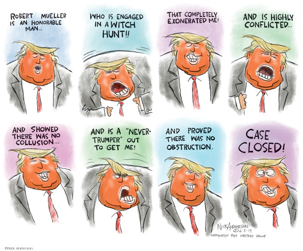 Cartoonist Nick Anderson  Nick Anderson's Editorial Cartoons 2019-06-04 2016 election