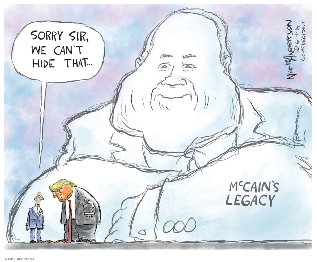 Cartoonist Nick Anderson  Nick Anderson's Editorial Cartoons 2019-06-05 party