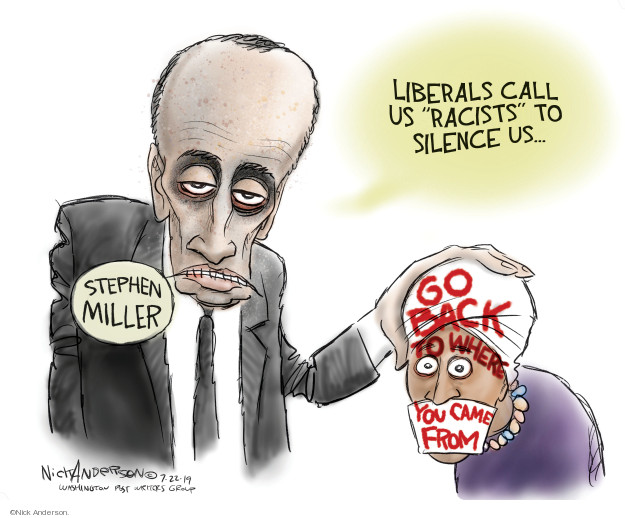 Cartoonist Nick Anderson  Nick Anderson's Editorial Cartoons 2019-07-22 media