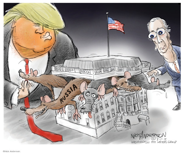 Nick Anderson  Nick Anderson's Editorial Cartoons 2019-08-01 election