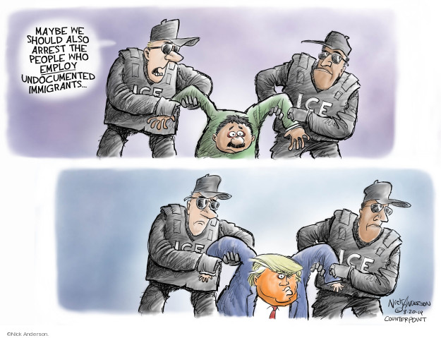 Nick Anderson  Nick Anderson's Editorial Cartoons 2019-08-22 family