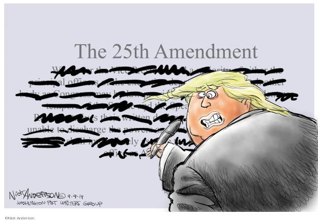 The 25th Amendment.