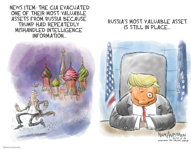Cartoonist Nick Anderson  Nick Anderson's Editorial Cartoons 2019-09-13 government