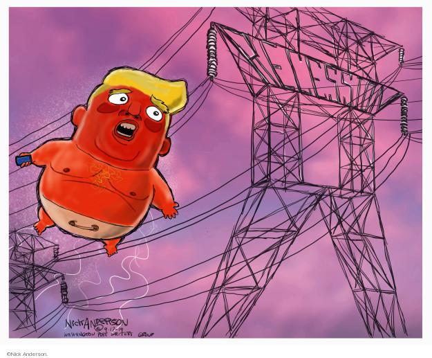 Cartoonist Nick Anderson  Nick Anderson's Editorial Cartoons 2019-09-16 recession