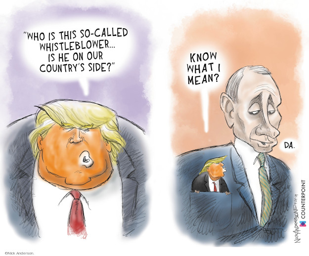 Cartoonist Nick Anderson  Nick Anderson's Editorial Cartoons 2019-09-24 government