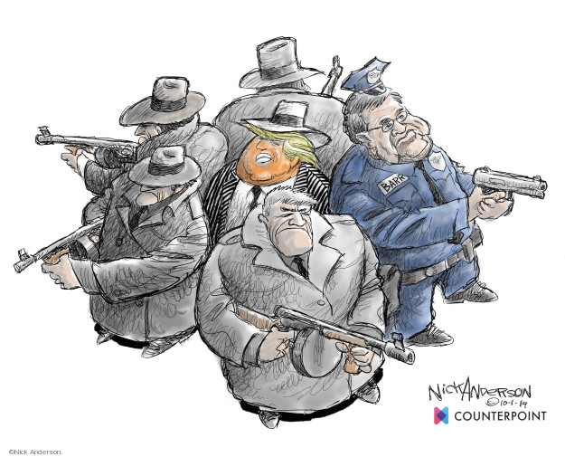 Cartoonist Nick Anderson  Nick Anderson's Editorial Cartoons 2019-10-03 government