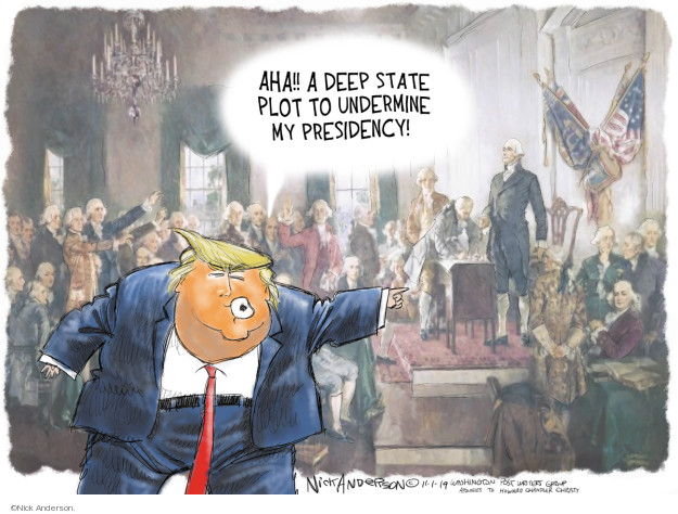 Cartoonist Nick Anderson  Nick Anderson's Editorial Cartoons 2019-11-01 power