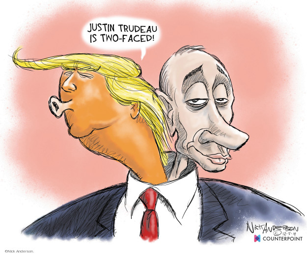 Cartoonist Nick Anderson  Nick Anderson's Editorial Cartoons 2019-12-06 Vladimir Putin