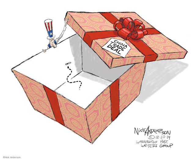 Cartoonist Nick Anderson  Nick Anderson's Editorial Cartoons 2019-12-20 state