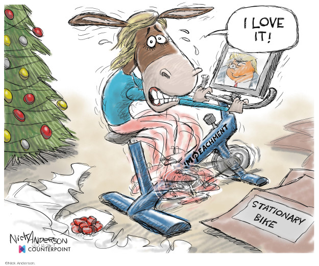 Cartoonist Nick Anderson  Nick Anderson's Editorial Cartoons 2019-12-27 abuse