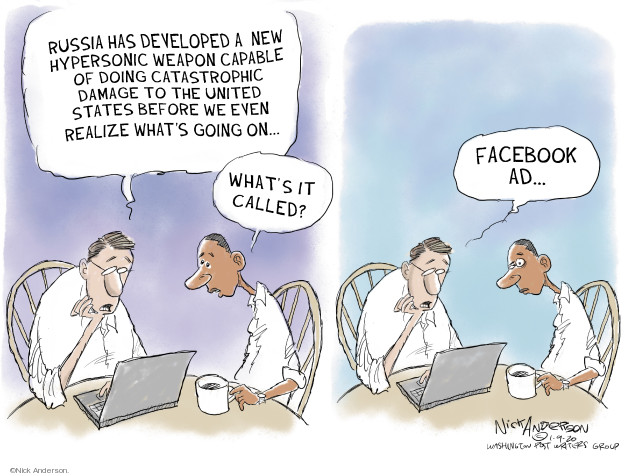 Cartoonist Nick Anderson  Nick Anderson's Editorial Cartoons 2020-01-09 media