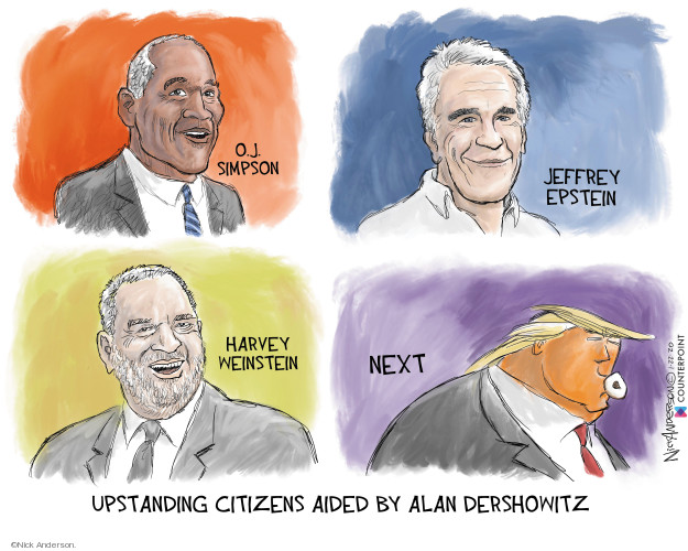 Cartoonist Nick Anderson  Nick Anderson's Editorial Cartoons 2020-01-22 abuse