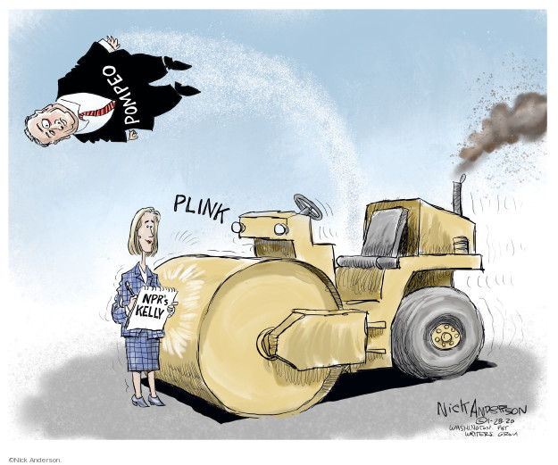 Cartoonist Nick Anderson  Nick Anderson's Editorial Cartoons 2020-01-28 media
