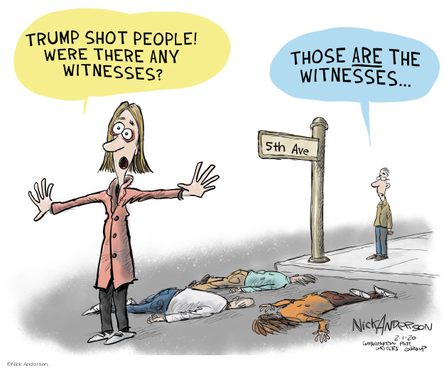 Cartoonist Nick Anderson  Nick Anderson's Editorial Cartoons 2020-02-01 abuse