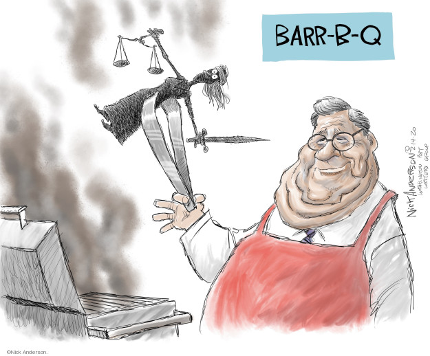 Cartoonist Nick Anderson  Nick Anderson's Editorial Cartoons 2020-02-14 government