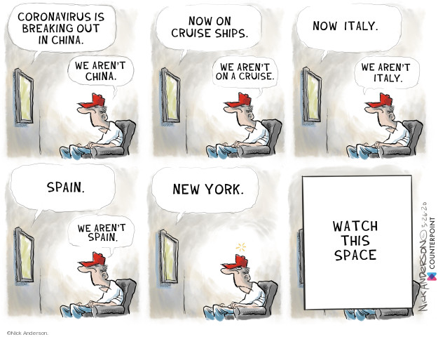 Nick Anderson  Nick Anderson's Editorial Cartoons 2020-03-26 Nick Anderson