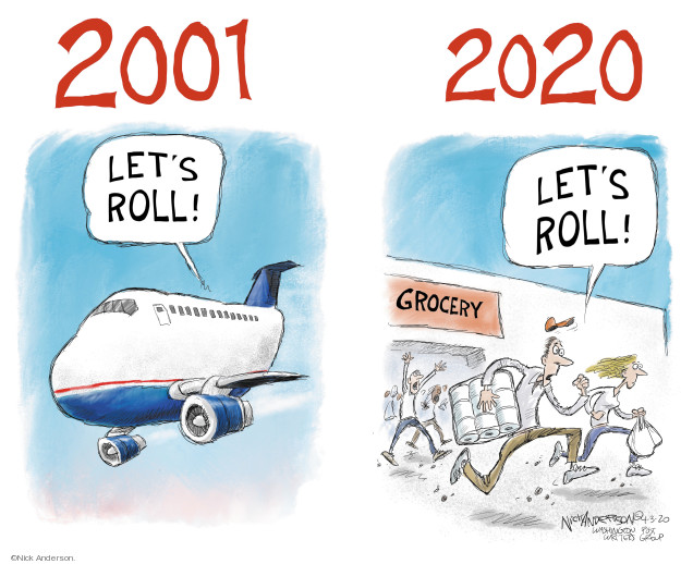 Nick Anderson  Nick Anderson's Editorial Cartoons 2020-04-03 2001