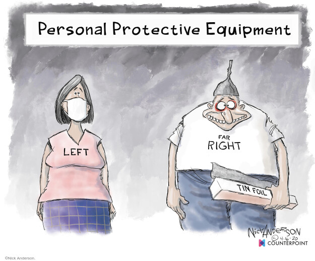 Cartoonist Nick Anderson  Nick Anderson's Editorial Cartoons 2020-04-16 public health