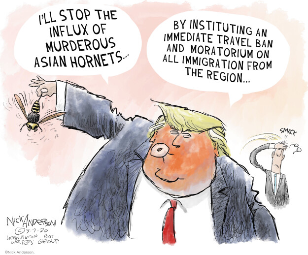 Nick Anderson  Nick Anderson's Editorial Cartoons 2020-05-07 presidential election