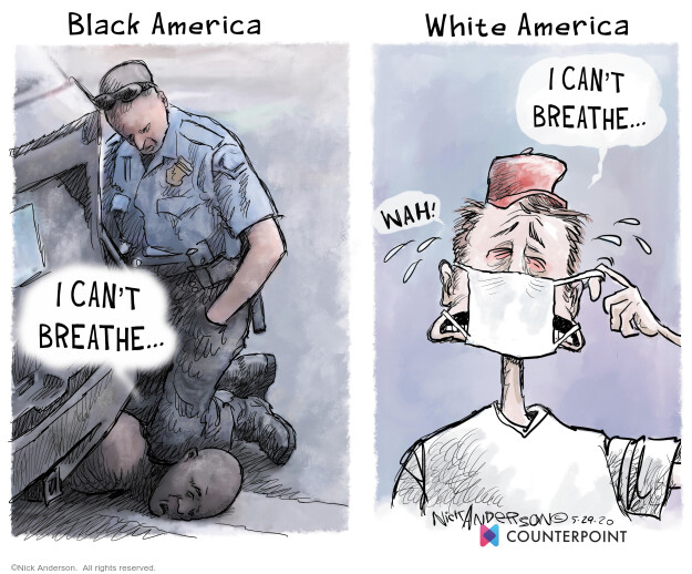 Nick Anderson  Nick Anderson's Editorial Cartoons 2020-05-30 America