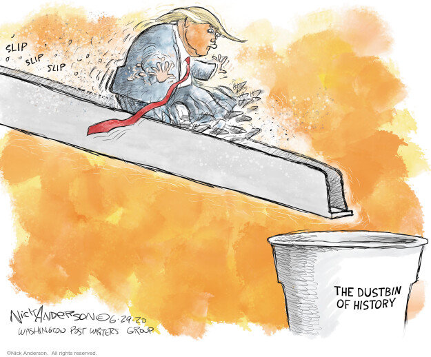 Nick Anderson  Nick Anderson's Editorial Cartoons 2020-06-29 presidential election