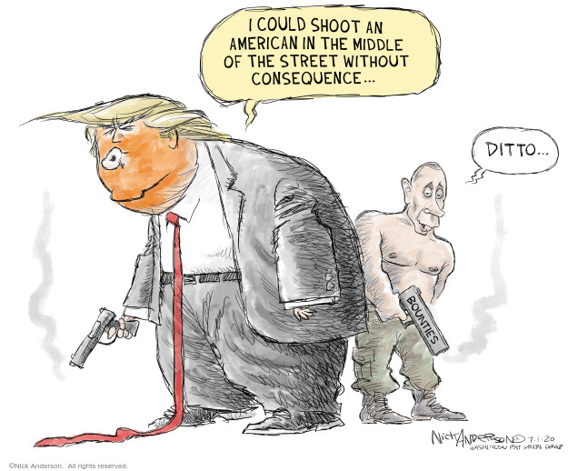 Cartoonist Nick Anderson  Nick Anderson's Editorial Cartoons 2020-07-01 America