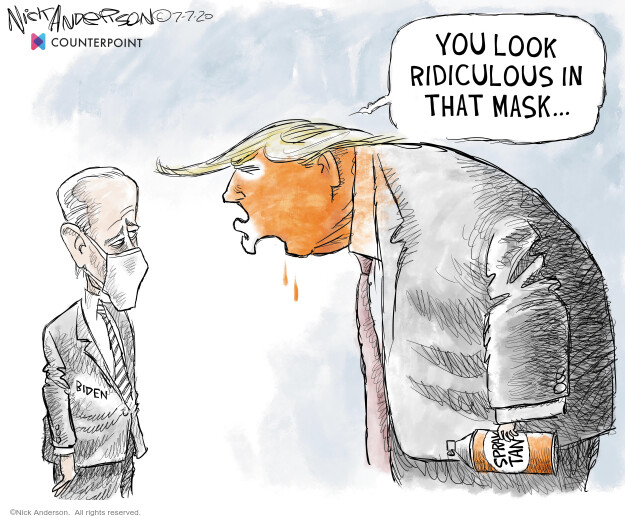 Nick Anderson  Nick Anderson's Editorial Cartoons 2020-07-07 2020 election Donald Trump