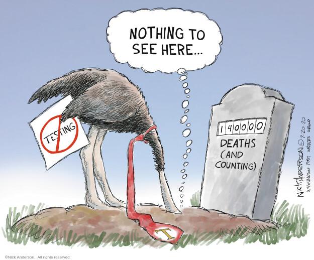 Nick Anderson  Nick Anderson's Editorial Cartoons 2020-07-20 coronavirus