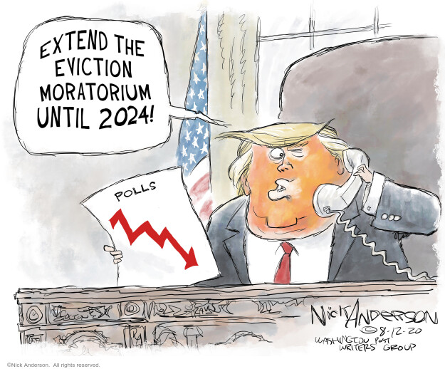Nick Anderson  Nick Anderson's Editorial Cartoons 2020-08-13 Corona