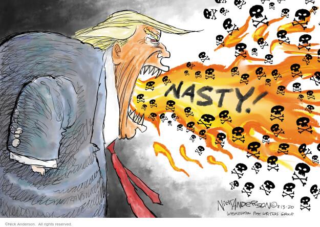 Nick Anderson  Nick Anderson's Editorial Cartoons 2020-08-14 republican